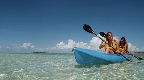 Castaway Cay kayaking