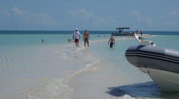 Castaway Cay Sandbar