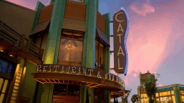Catal Restaurant in Downtown Disney