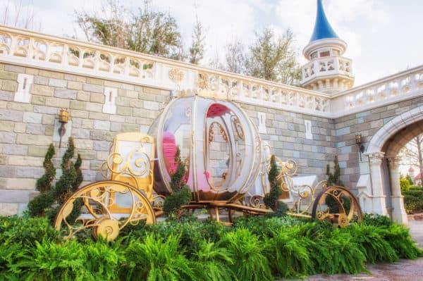 Cinderella Coach photopass