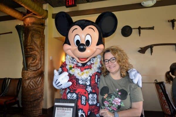 Ohana with Mickey