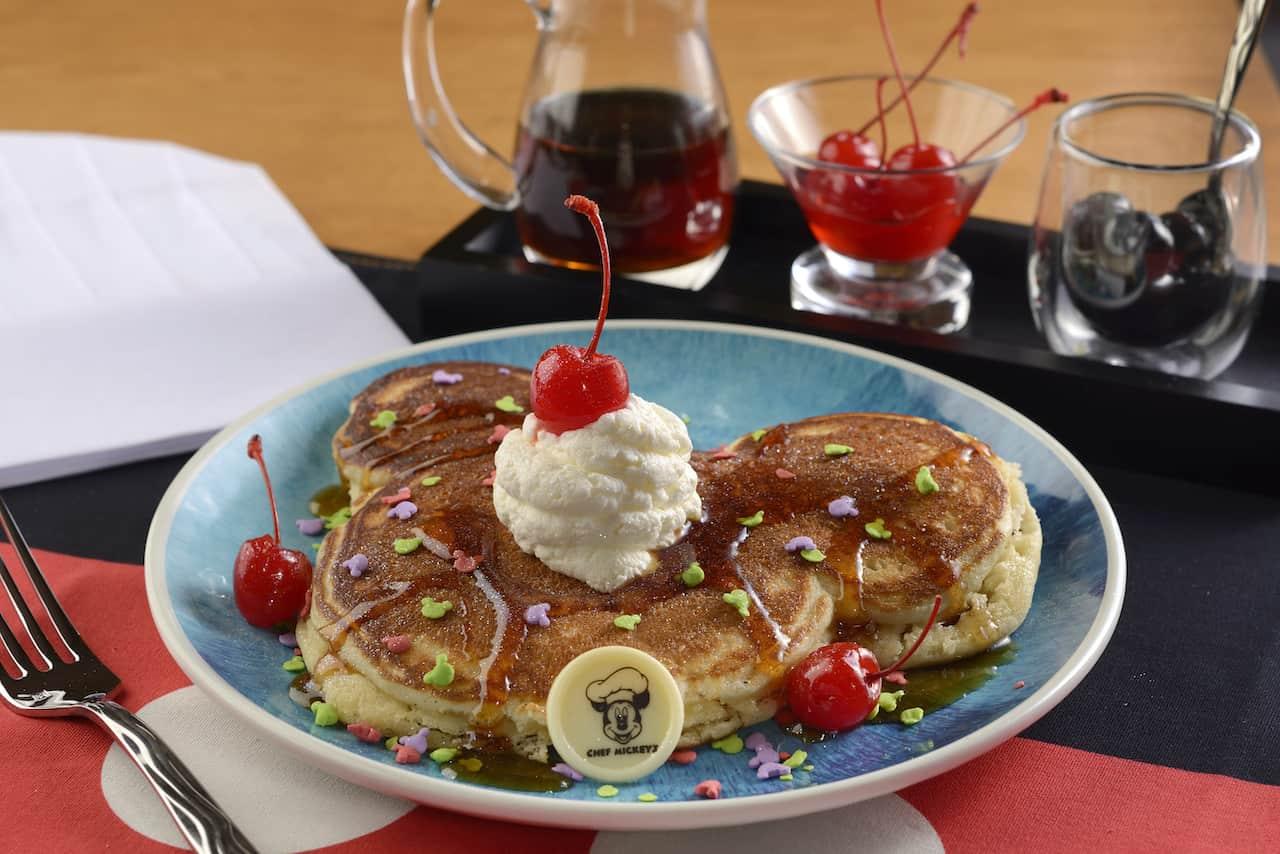 New Chef Mickey breakfast menu item