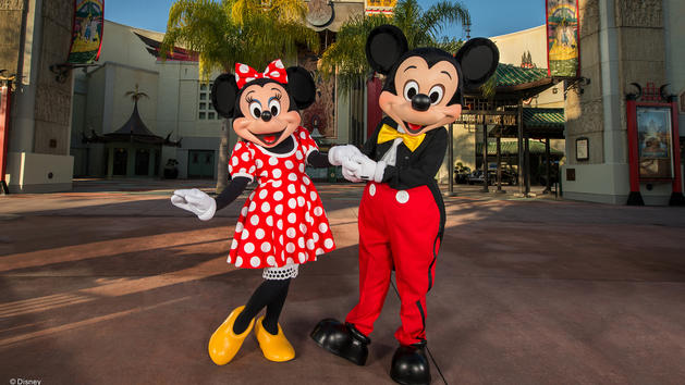 Mickey & Minnie Starring in Red Carpet Dreams (character meet)