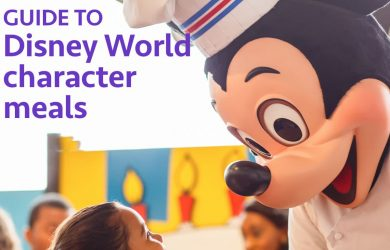 charactermeals 390x250 - Guide to all character meals at Disney World