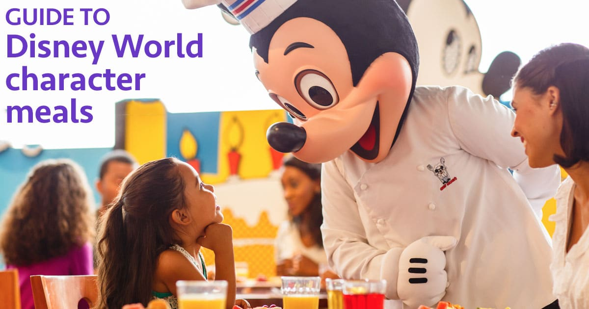 Guide To All Character Meals At Disney World