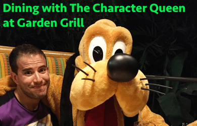 characterqueengardengrill 390x250 - Dining with the Character Queen: Garden Grill at Epcot