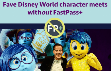 characterswithoutfastpass 390x250 - Character meets at Disney World without FastPass+ (that are worth your wait!)
