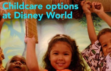 childcareoptions 390x250 - Babysitting and childcare options at Disney World