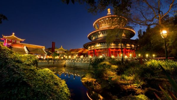 chinapavilion2 600x338 - Guide to all Epcot rides and attractions
