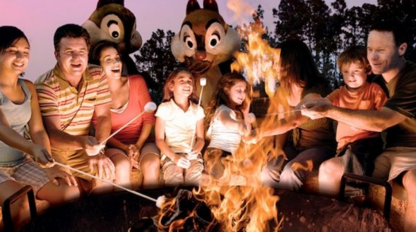 Chip 'N' Dale Campfire Sing-A-Long at Fort Wilderness Campground