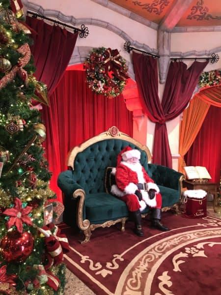 santa clause at hollywood studios