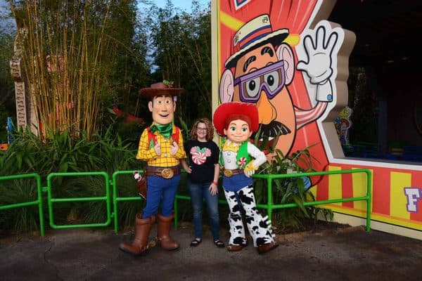 woody and jessie christmas