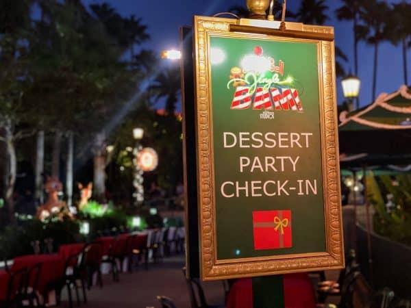 Jingle Bell, Jingle BAM! Dessert Party