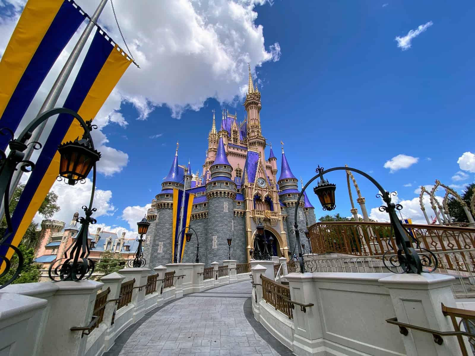 Pink Cinderella Castle at Magic Kingdom