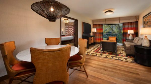 Club Level room at Disney's Animal Kingdom Lodge