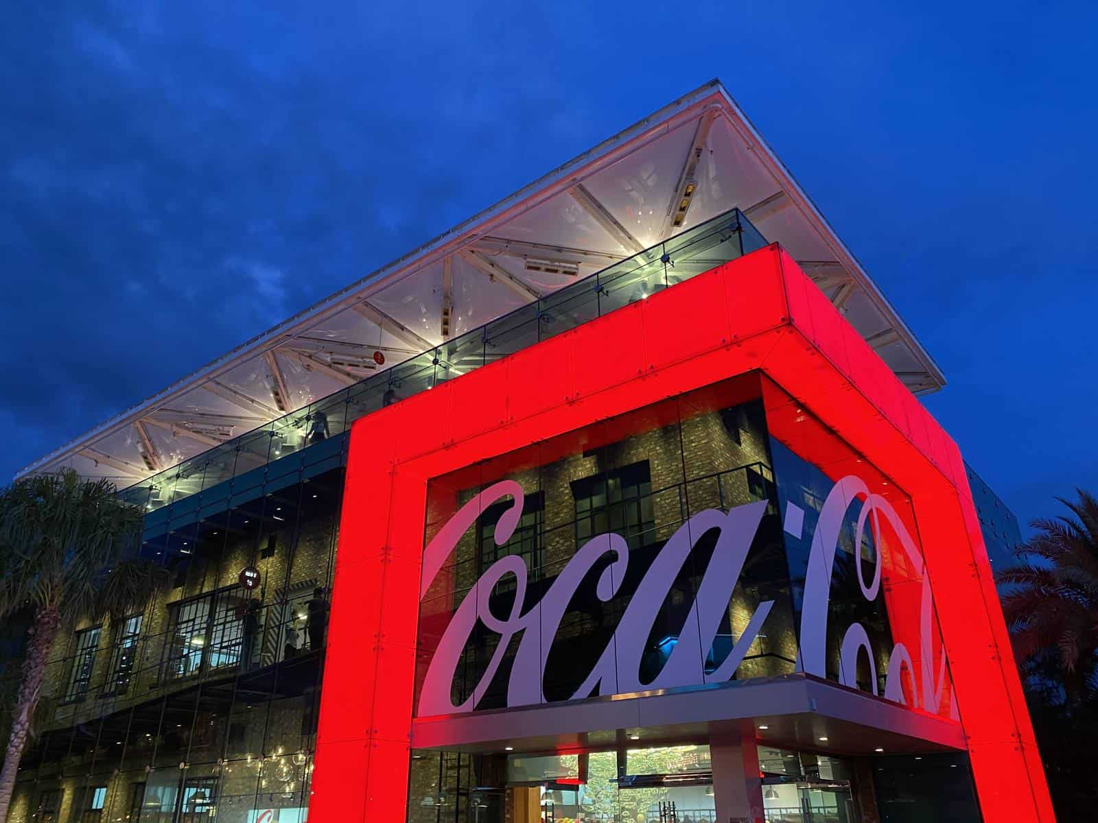 Pros and Cons for All Disney Springs Restaurants - Coca-Cola Store Rooftop Beverage Bar