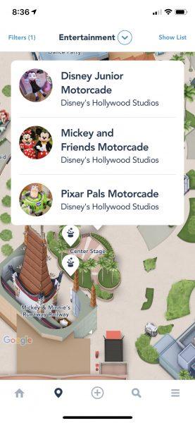 Hollywood Studios Motorcades