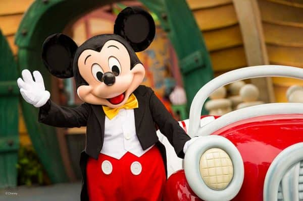 mickey in toontown