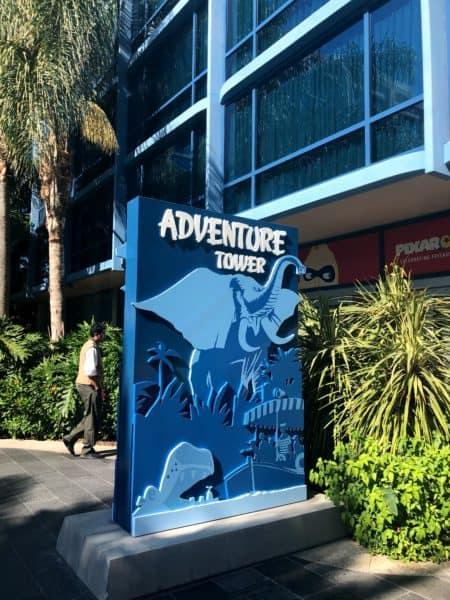 Disneyland Hotel - Adventure Tower