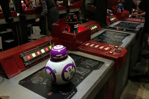 finished droid at Droid Depot
