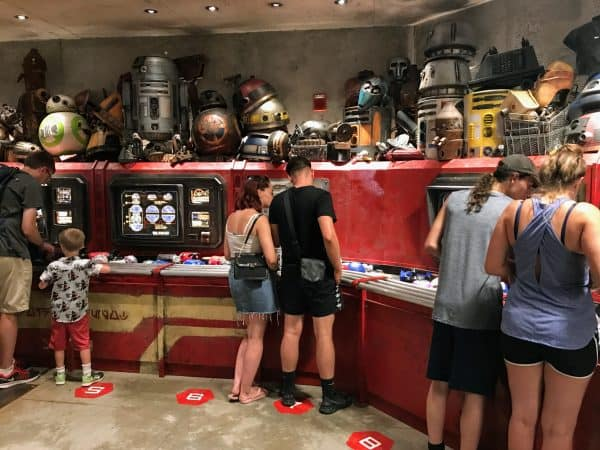 work stations at Droid Depot