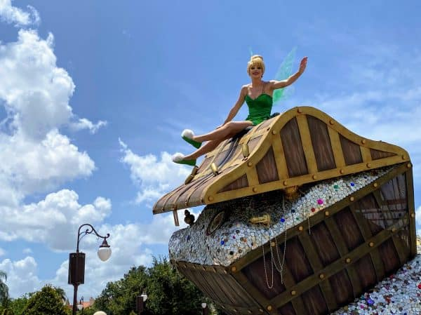 Tinker Bell and the Lost Treasure Cavalcade