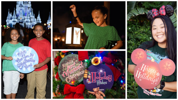 prop photos at Mickey's Very Merry Christmas Party
