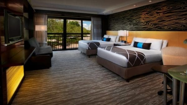 Contemporary hospitality suite acces