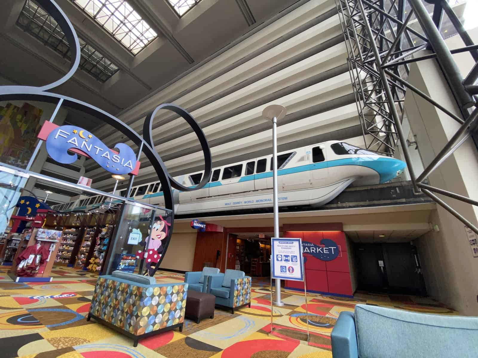 Monorail at the Contemporary