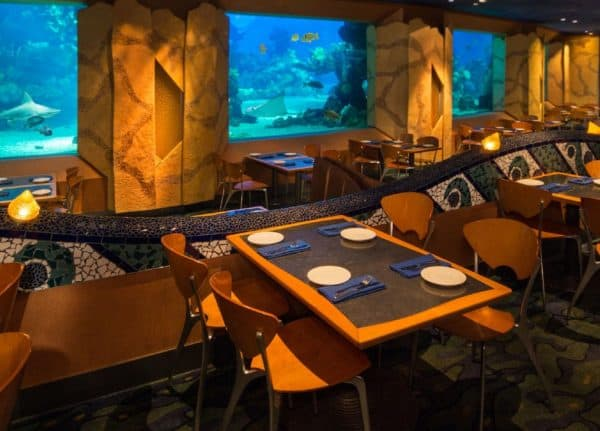 coral reef restaurant at epcot