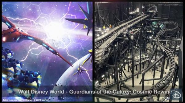 Guardians of the Galaxy: Cosmic Rewind track