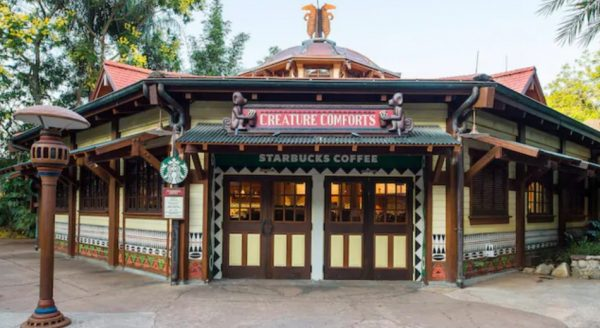 Creature Comforts in Animal Kingdom has outdoor seating
