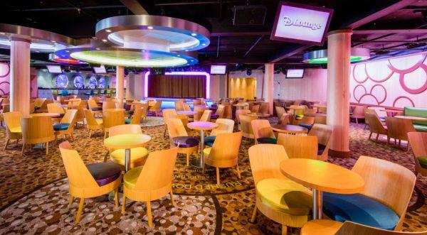 D Lounge on Disney Cruise Line