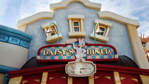 Daisy's Diner in Toontown