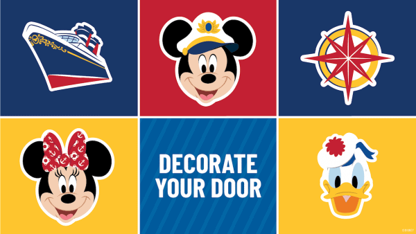 decorate your stateroom door on disney cruise line, fish extender
