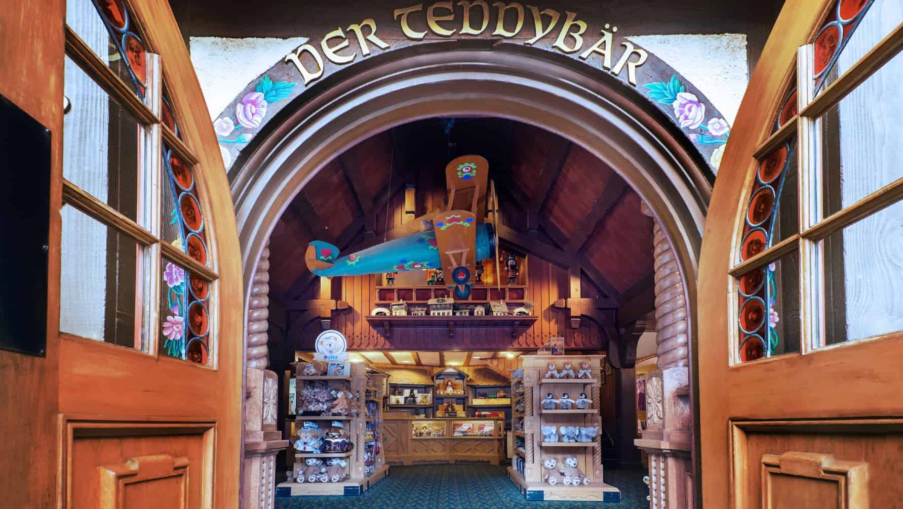 Der Teddybar in Germany pavilion at Epcot