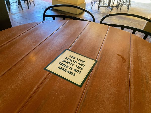 Table Unavailable