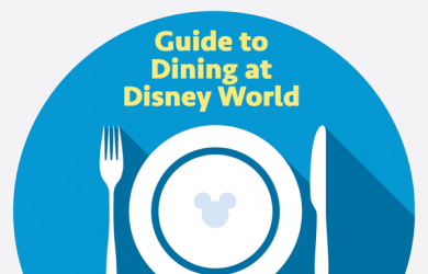 Guide to dining at Disney World