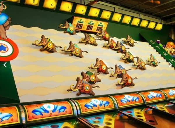 Dino-Rama games in DinoLand U.S.A.
