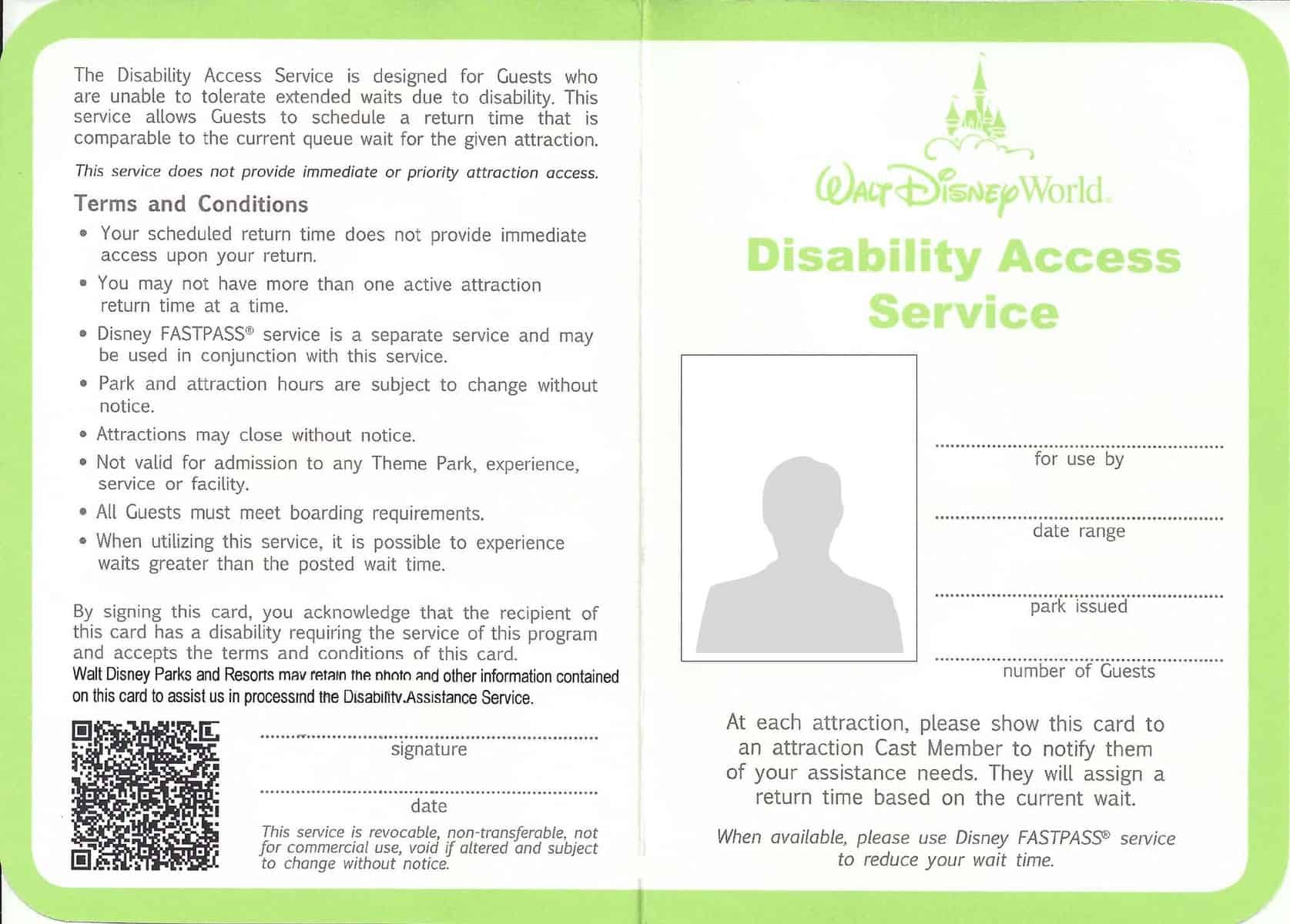 disabilityaccesscard - Taking a child on the autism spectrum to Disney World