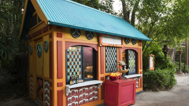 discovery island kiosk 00 - Flame Tree Barbecue (lunch)