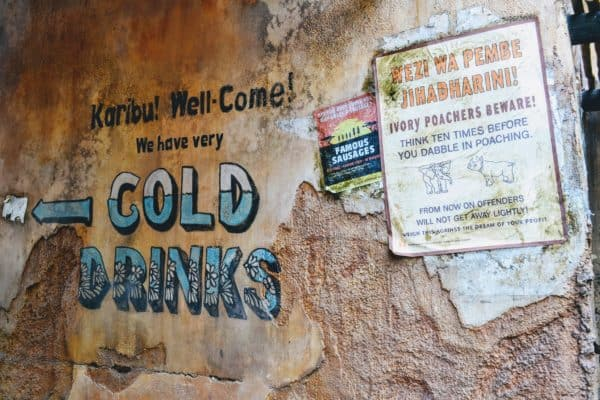 Africa Cold Drinks sign