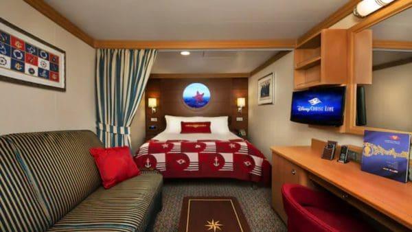 Disney Dream inside staterooms