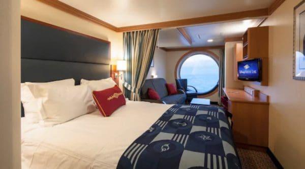 Disney Dream oceanview stateroom