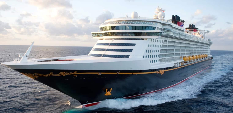 Disney Dream cruise line ship