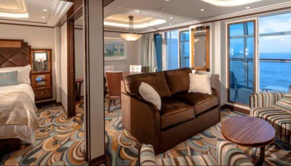 Disney Fantasy 1-bedroom concierge stateroom