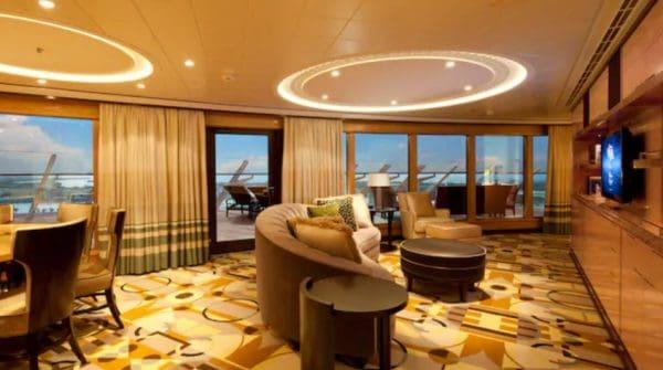 Disney Fantasy royal concierge stateroom