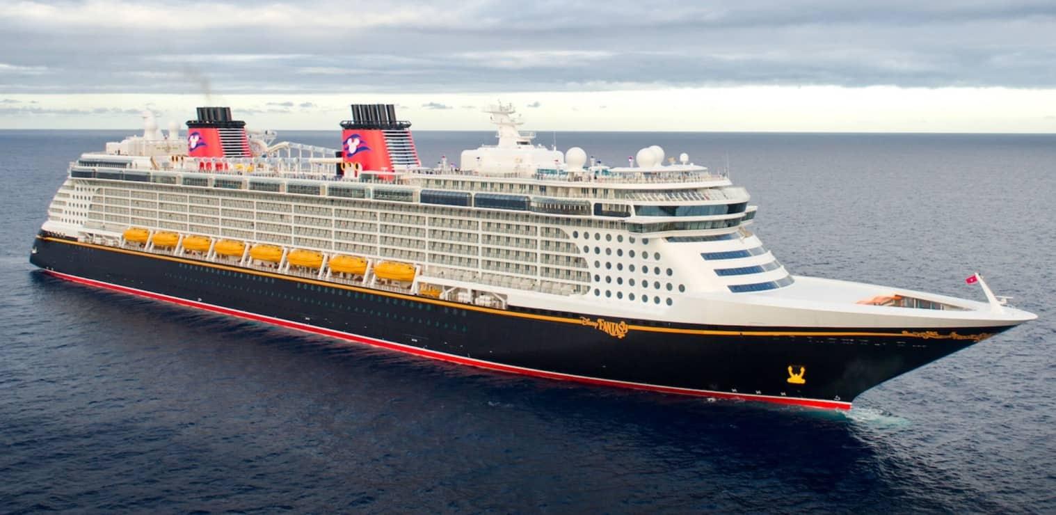 Disney Fantasy cruise line ship
