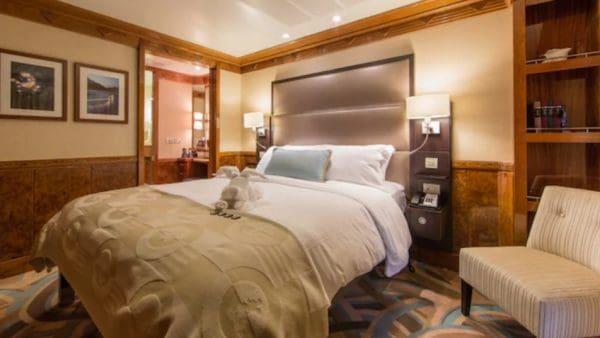 Disney Magic concierge two bedroom stateroom