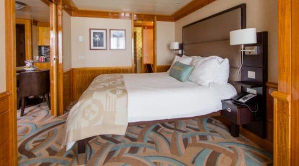 Disney Magic one bedroom concierge stateroom